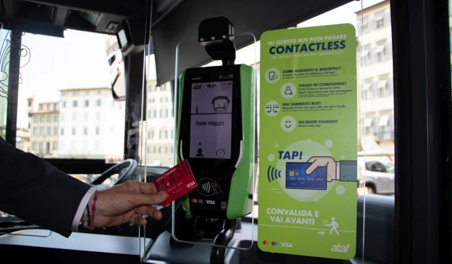 Firenze pagamento contactless